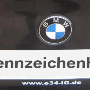 E34 IG Kennzeichenhalter