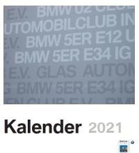 Club Kalender 2021